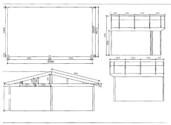 Anbaugewächshaus in Wohnraumqualität zum Sonderpreis -Zeichnung2