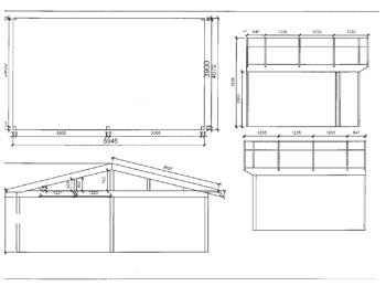 Anbaugewächshaus in Wohnraumqualität zum Sonderpreis -Zeichnung4