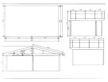 Anbaugewächshaus in Wohnraumqualität zum Sonderpreis -Zeichnung5