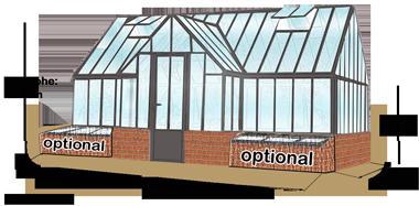 Viktorianische Mauergewachshauser Mauer Victorian Classic Greenhouses